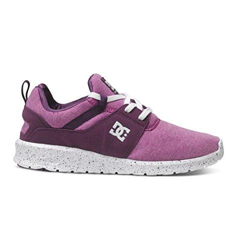 DC Shoes Heathrow Se J, Baskets Basses femme Violet (Purple)