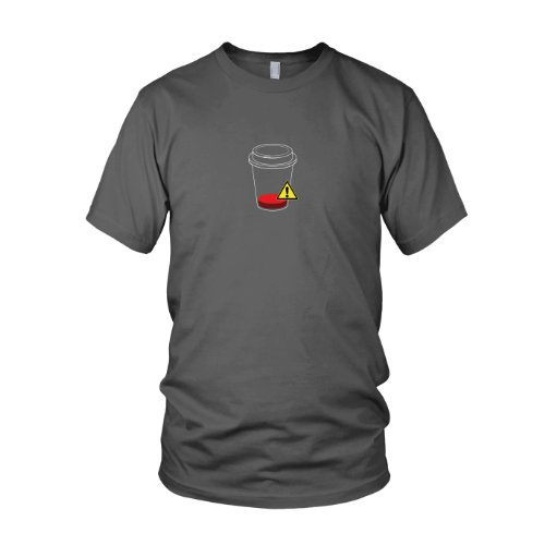 Refill required - Herren T-Shirt Grau