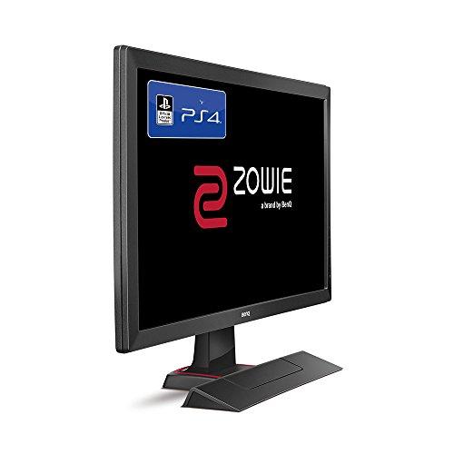 BenQ ZOWIE RL2455S 60,96 cm (24 Zoll) Konsolen e-Sports Monitor (offiziell lizensiert für PS4/PS4 Pro, Lag-free, Black eQualizer, Color Vibrance, 1ms Reaktionszeit) grau - 2