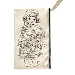 Afrocat Paper Doll Mate Golden Tassel Pouch Multi Purpose Organizer Sally