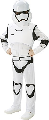 STAR WARS - THE FORCE AWAKENS ~ Stormtrooper (Deluxe) - Kids Costume 13 - 14 years