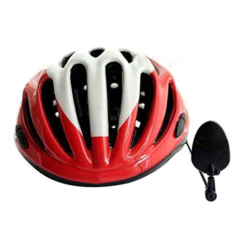 Fahrrad Helm Spiegel, Gusspower Stadt 360 Grad Einstellbare MTB Road Fahrrad Radfahren Rückspiegel für alle Größe Helm