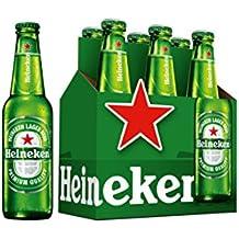 Heineken Cerveza - Pack de 6 Botellas x 330 ml - Total: 1.98 L