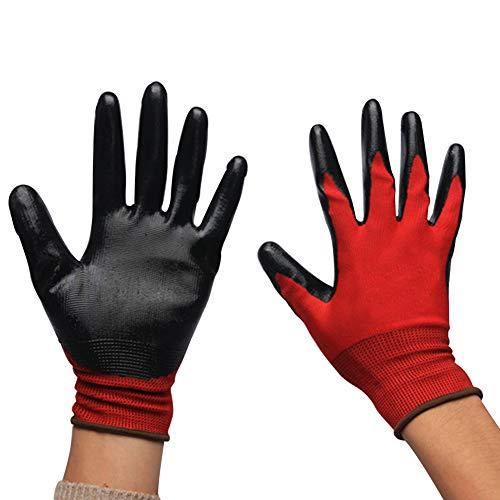 FäHig Arbeitshandschuhe Handschuhe Rindsleder 12 Paar Sicherheit & Gebäudeinstandhaltung