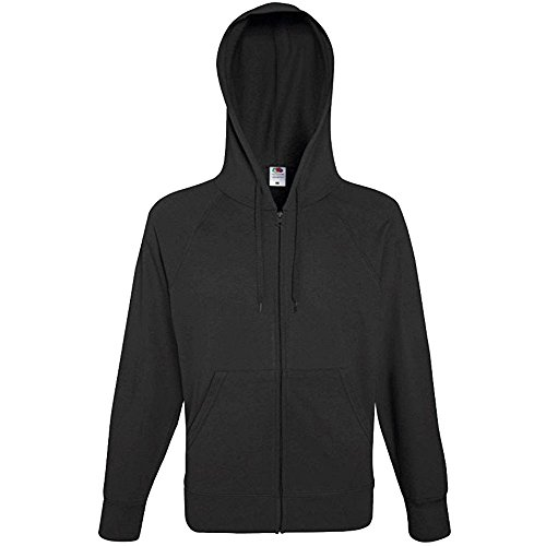 Fruit Of The Loom Mens Lightweight Hooded Sweatshirt (Lightweight Pullover Hooded)