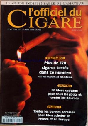 OFFICIEL DU CIGARE (L') [No 1] du 01/12/1999