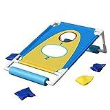 Die besten Cornhole Boards - OOFIT Cornhole Board Set, Kinder Spielzeug für Schwimmbad Bewertungen