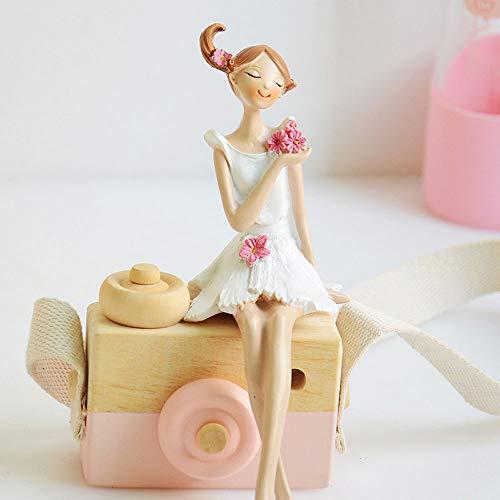 ASDBHMASA Hermosas muñecas de pies Colgantes por Escultura Angel Garden Statue Resin Art&Craft Home Decor Birthday Gift 2pcs/Set L3230
