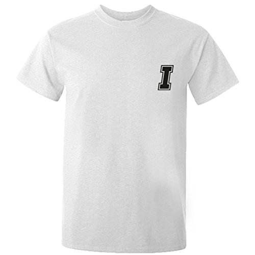 Illustrated Identity Initial 'I' Print Short Sleeve t-Shirt Ages 3/4-12/14