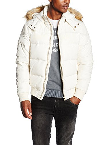 Kaporal Jotus, Impermeable Uomo, Blanc (Offw), M (Taille Fabricant: M)