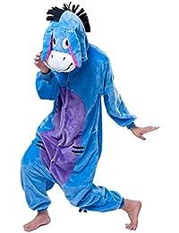 Ext¨¦rieur Haut d'hiver chaude en flanelle pyjama une pi¨¨ce unisexe pour adulte pyjama Pikachu Large