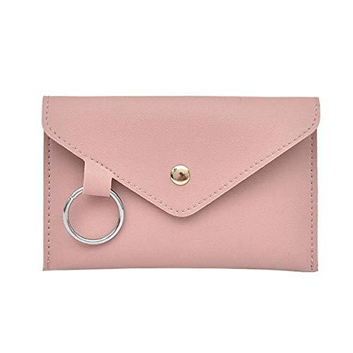 Mode Neue Frauen Taille Pack Femal Gürtel Tasche Telefon Taschen Taschen Design Frauen Umschlag Taschen Für Damen Mädchen Fanny Pack rosa ()