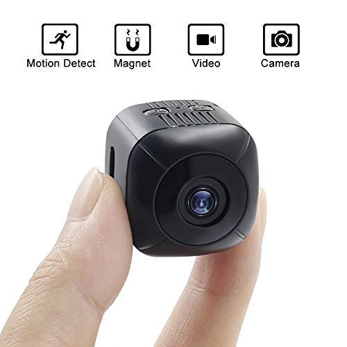 Mini Spy Camera, UYIKOO HD 1080P Hidden Spy Camera Portable Surveillance Camera Support Motion Detection for Indoor / Outdoor Security Nanny Camera
