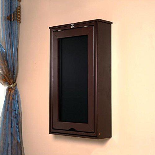 Zhuozi FUFU Wandhalterung Faltbare Wandhalterung schreiben schwebende Schreibtisch Holz Wand montiert H82 * W56 * D15cm Drop-Blatt-Tabelle (Farbe : - Klammern Blatt Auf Sie Auf Schreiben