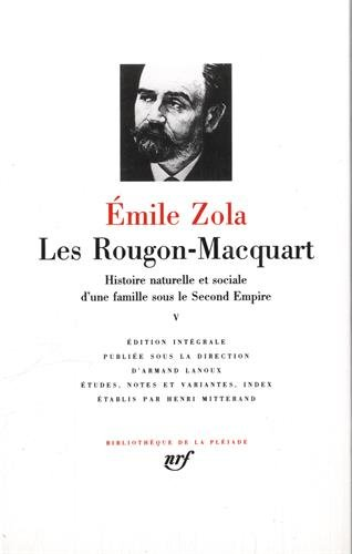 Les Rougon-Macquart, tome v