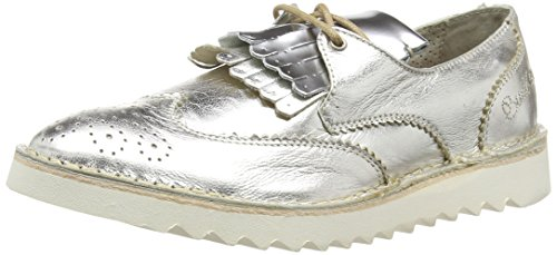 BUNKER Slipper Damen Slipper Silber (Silver)