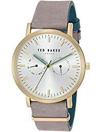 bb2da323a Ted Baker Men s Analog Quartz Watch with Leather Strap TE50274013