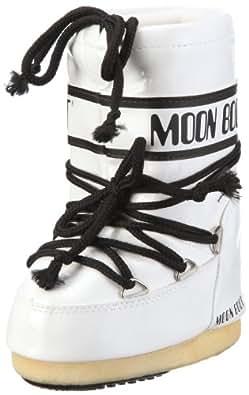 Tecnica MOON BOOT VINIL, Damen Snowboots Stiefel, Weiß (001), 27/30 EU