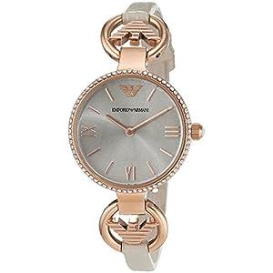 Armani–Reloj de Pulsera analógico para Mujer Cuarzo Piel ar1886