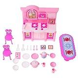 JAGENIE Küche Möbel Zubehör Barbie Puppen Geschirr Cabinet Kinder Spielzeug Mädchen GiftChristmas New Year Geschenk, 1 Stück, zufällige Lieferung