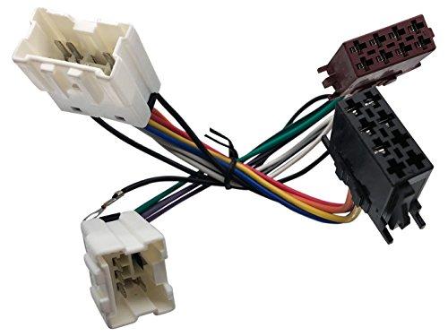 ISO Radio Adapter für Nissan 350Z Almera Maxima Micra Murano Murano Navara etc.