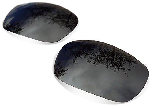 sunglasses restorer Kompatibel Ersatzgläser für Oakley Crosshair 2.0, Polarized Black Iridium Gläser.