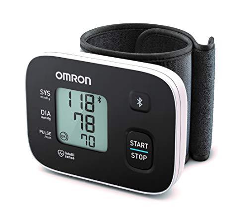 OMRON RS3 Intelli IT - Tensiómetro de muñeca con conectividad Bluetooth para...