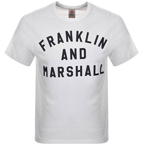 white-mens-franklin-marshall-crew-neck-logo-t-shirt-white-large