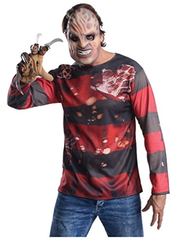 Rubie's 336566 - Freddy Kit, Action Dress Ups und Zubehör, One Size (Krüger Kinder Halloween Kostüm Freddy)