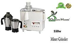RGI Mark1 JS-102 Juicer Mixer Grinder, 550 Watt (2 Jar SS)