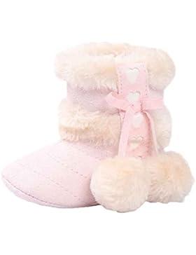 FNKDOR Babystiefel Soft Sole Schnee Stiefel Soft Kleinkind Schuhe