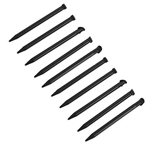 Stylus-Eingabestift für Nintendo 3DSXL Konsole, Schwarz/Weiß, 10 Stück