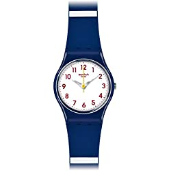 Swatch LN149 25mm Plastic Case Multicolor Silicone Plastic Men's & Women's Watch