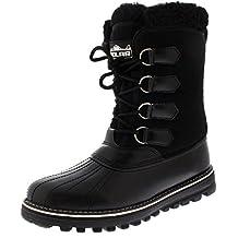 Polar Boot Damen Gummi Sohle Winter Regen Faux Vlies Gezeichnet Wasserdicht Regen Schnee Stiefel