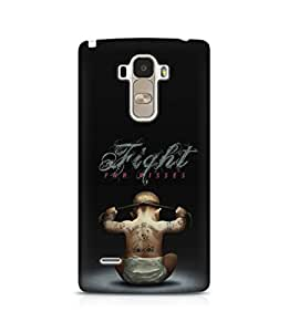iKraft Printed Design High Quality Hard Back Case Cover For LG G4 Stylus (5.7 inches)