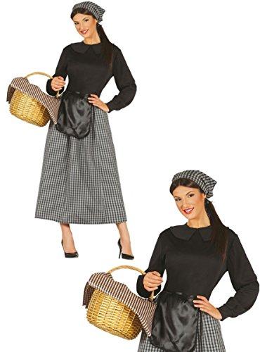 Imagen de disfraz de castañera para mujer  l