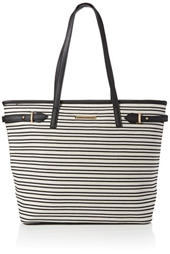 Dorothy-Perkins-Womens-Belted-Landscape-Tote-Black-Black-And-White