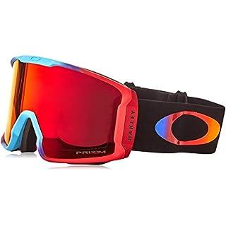 Oakley Herren Line Miner 707033 1 Sportbrille, Rot (Prizm Halo 2018/Prizmtorchiridium), 99