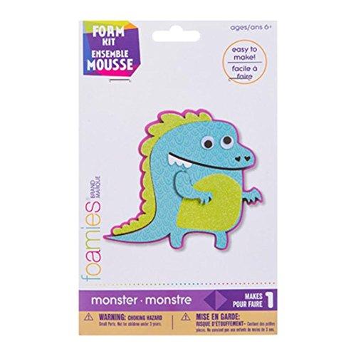 Darice Foamies Monster Activity Kit: foam-4.5Zoll -