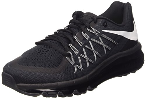 Nike Air Max 2015, Running Entrainement Homme Black/White