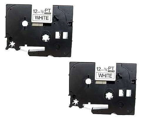 1x kompatible Schriftband TZE131/TZ131Schwarz auf Transparent (12mm x 8m |