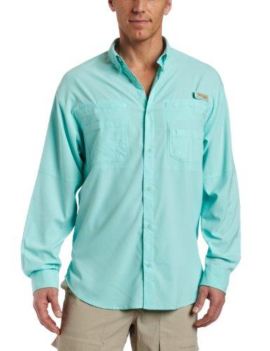 Tamiami Angeln Shirt (Columbia Herren Plus TAMIAMI II Long Sleeve Shirt Small Gulf Stream)
