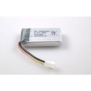 Carson 500608162 - Li-Po batería X4 Quadcopter.360 FPV 3,7 V / 500mAh, Accesorios
