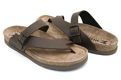 Mephisto Ciabatte infradito t. moro sandali uomo NIELS T.MORO 41