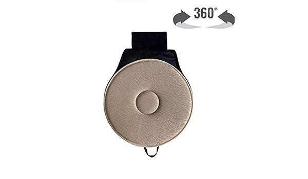 Rotazione a 360/° YQRJYB Antiscivolo Confezione da 3. 3 Confezioni Beige in Spugna Grucce per Adulti