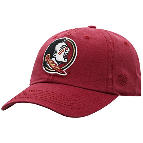 Top of the World Florida State Seminoles Men's Hat Icon, Garnet, Adjustable (Seminoles Florida State Hat)