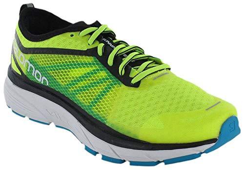 Salomon Sonic RA, Zapatillas de Trail Running para Hombre, Amarillo (Safety Yellow/Black/Bluebird 000), 45 1/3 EU