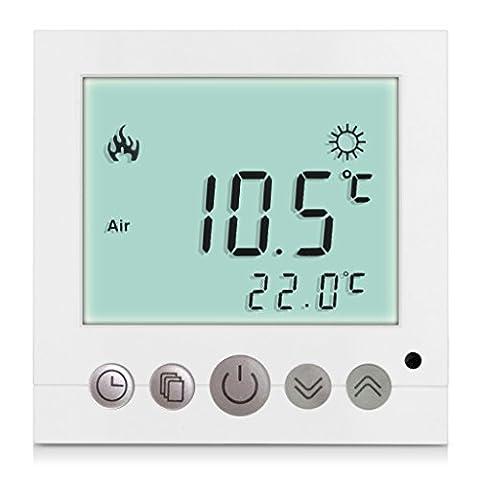 Excelvan® BYC16.H3 16A Weiß Heizung System Thermostat Smart Digital LDC Display Heim