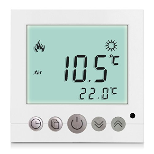 Excelvan® BYC16.H3 16A Weiß Heizung System Thermostat Smart Digital LDC Display Heim Raumthermostat