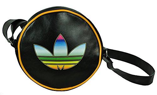 Adidas Disco Shoulder Bag Originals Retro Damen Schultertasche Schwarz (Bag Messenger Shoulder Retro)